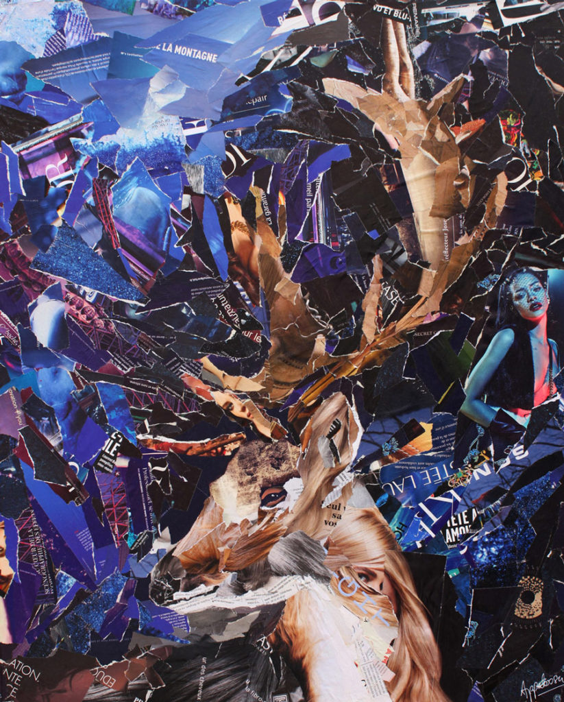 Lord of the woods - artiste, collage